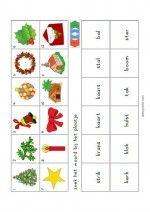 Mino Loco Kerst – Zoek woord bij plaatje