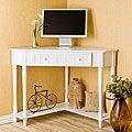 Armstrong White Corner Computer Desk | Overstock.com Shopping - The Best Deals on Desks