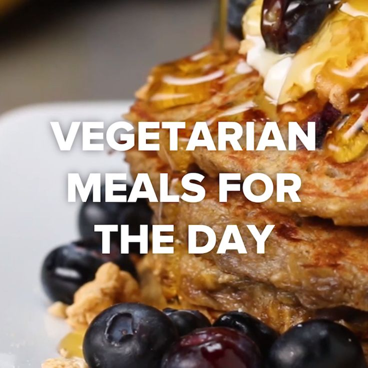 Vegetarian Meals For The Day