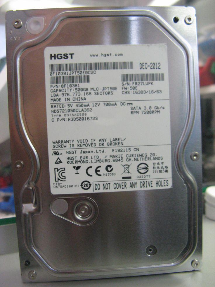 Test performansi Hitachi HDS721050CLA362 hard diska