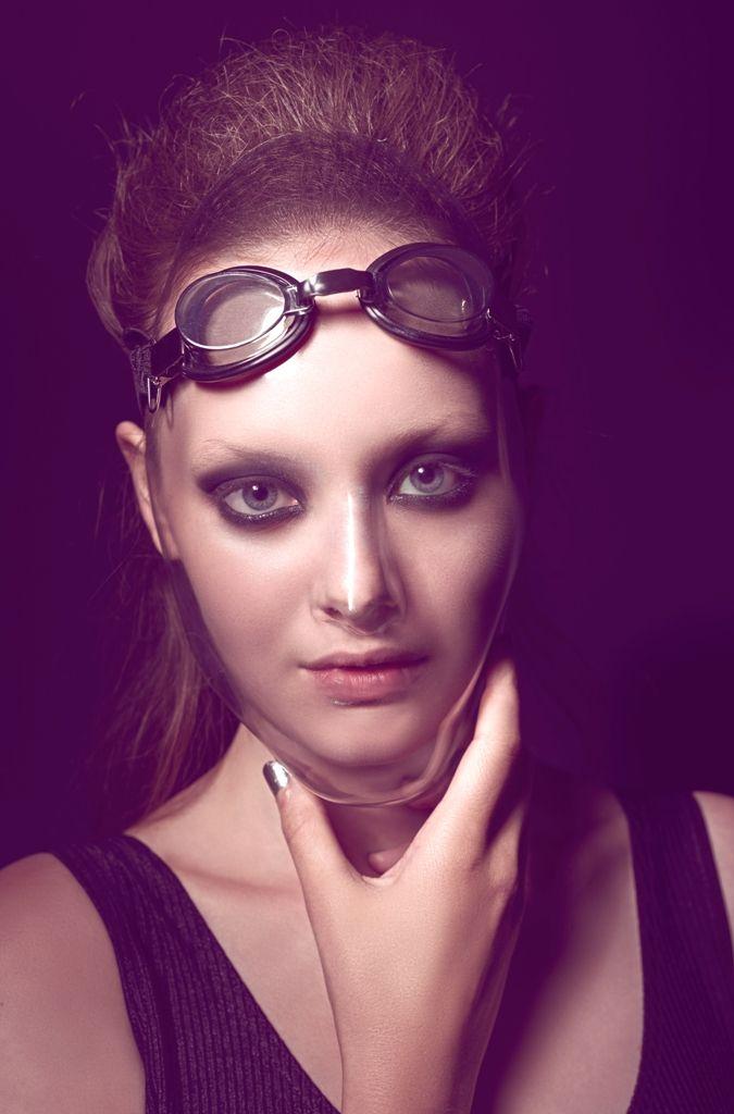 makeup by Andrea Raffai photography by Tamás Horváth #makeup#trucco