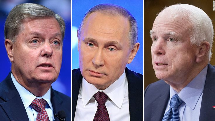Two of the Senate's most prominent hardliners on Russia are framing the Washington consensus of Russian aggression as free from any disagreement whatsoever -- except from President-elect Donald Trump.