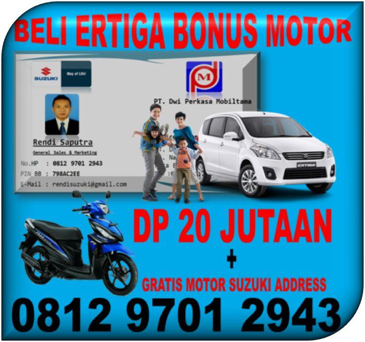 Beli Mobil Suzuki Ertiga Dapat Bonus Gratis Motor Suzuki Address