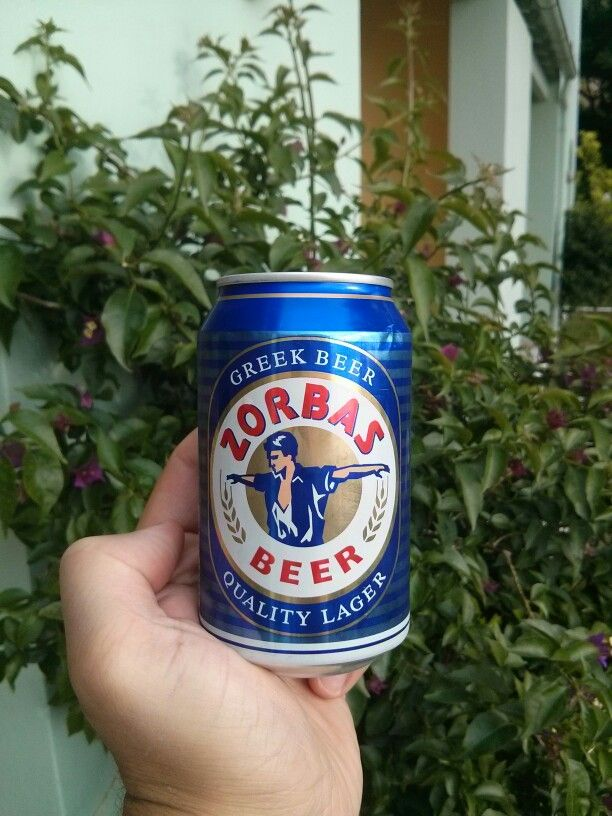 Zorbas Beer - Atinsko pivo
