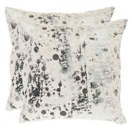 fun!: Safavieh Pillows, Abstract Motif, White Frostings, Pillowsconstruct Materials, Nars Pillows, White Decor, Throw Pillows, Decor Pillows, Pillows Sets