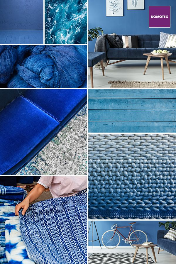 Interior Design Based On Strong Blue Sometimes Requires Courage But Its Can Also Produce Wonderful Creations Let Your Inspiration Run Free What Role Do