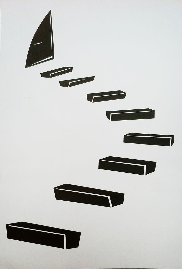 First Stage - Black & White STAIR