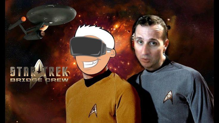 Kobayashi Maru Test + Destroying The Enterprise In Star Trek Bridge Crew...