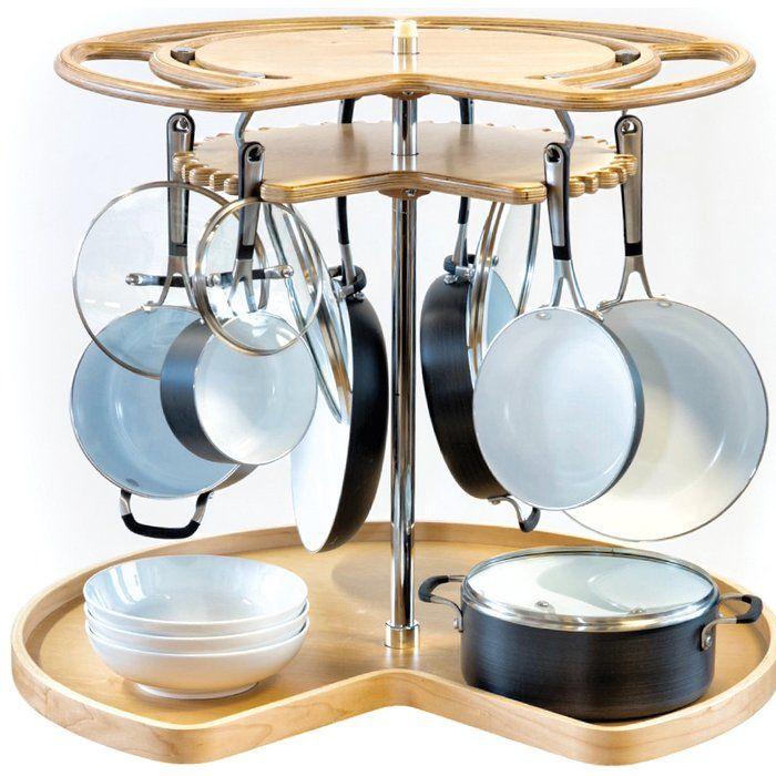 8 Tier Adjustable Cabinet Door Organizer Rev A Shelf Kitchen