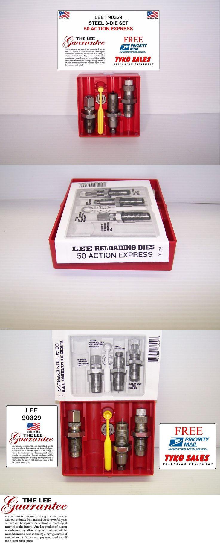 Dies 31825: 90329 * Lee Steel 3-Die Set * 50 Action Express -> BUY IT NOW ONLY: $36.45 on eBay!