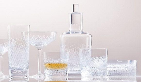 Hommage, nová kolekce barového skla ve 3 typech brusu