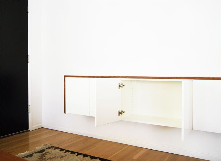 Diy Ikea Hack Akurum Suspension Rail System Is Designed To Levely Hang Wall Cabinets