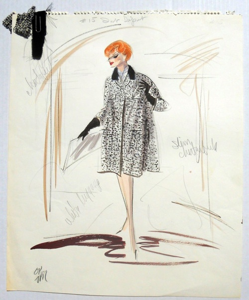 89 best edith head sketches images on pinterest edith
