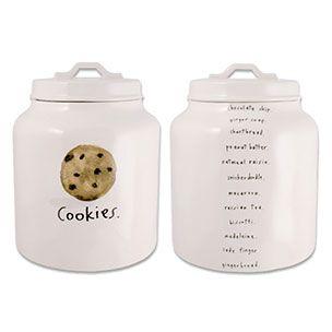 Chocolate Chip Cookie Jar - By artist, Rae Dunn. Air tight seal. Sale $29.99.