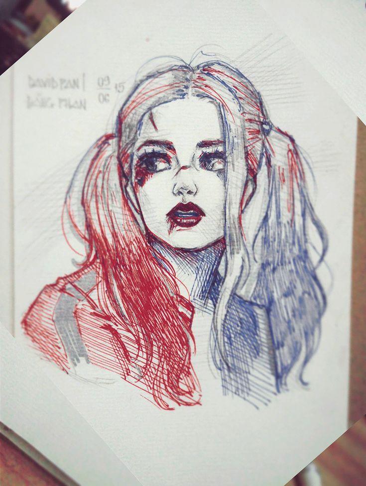 ArtStation - Harley Quinn, David Pan