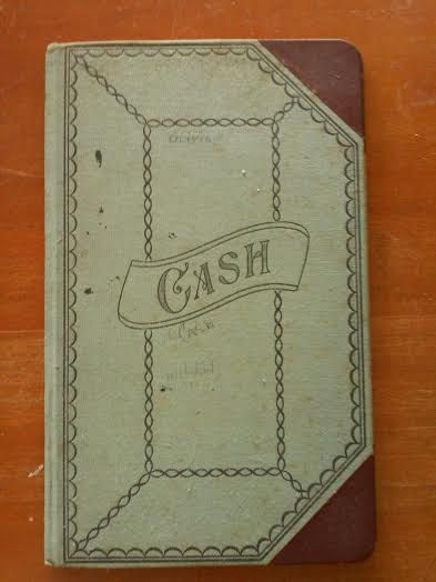 1936 General Store Cash Ledger Book ~ Olivia, the Young Book Keeper~ Great For A Rustic Setting, Event, or Decor! by RunningBoardsVintage on Etsy