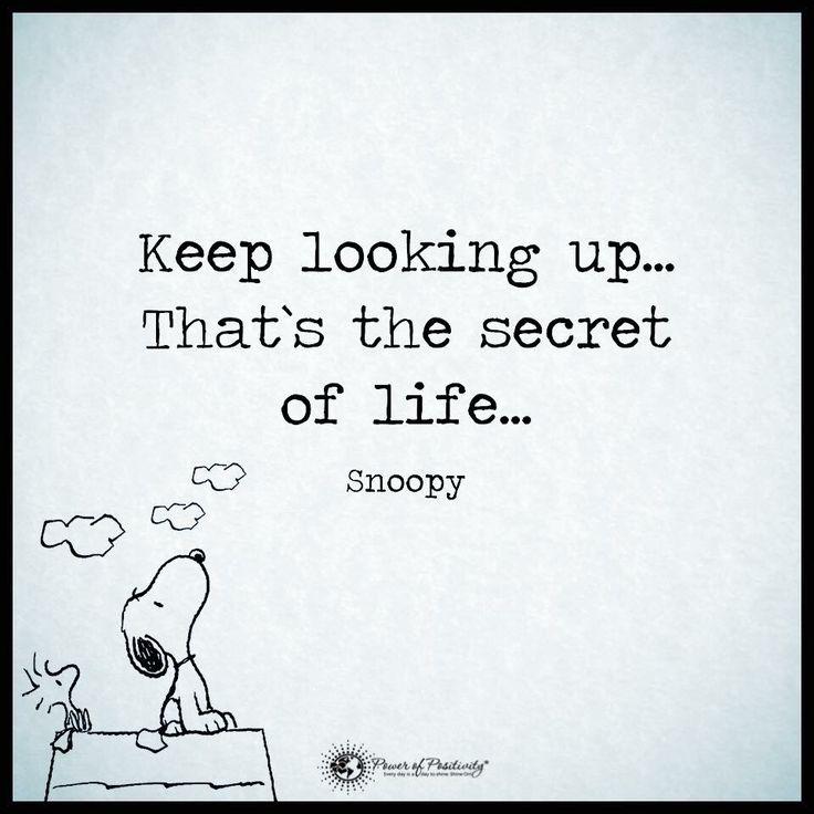 Keep looking up...