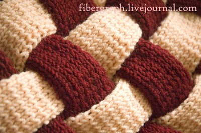 Плетеный плед - Fibergraph Studio's Blog