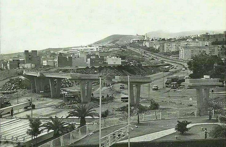 Puente piscina fotos antiguas de santa cruz de tenerife for Piscina santa cruz de tenerife