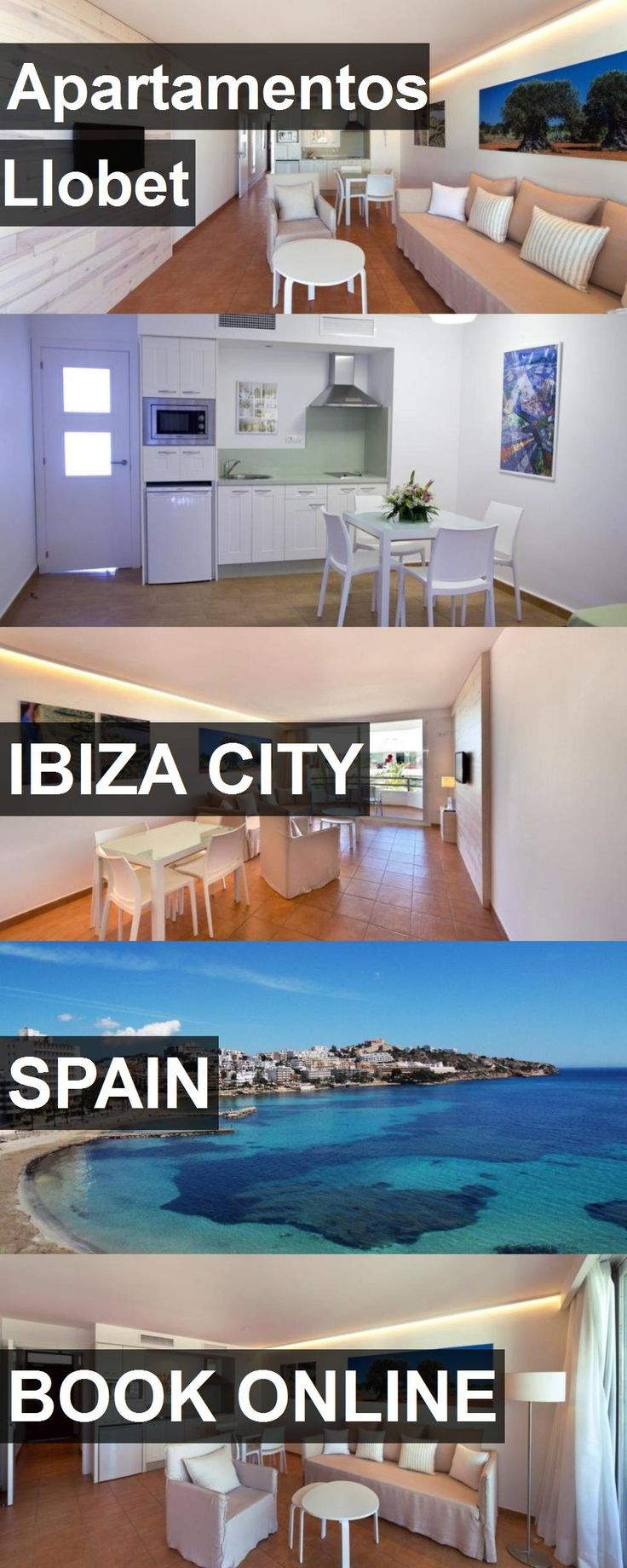 Hotel Apartamentos Llobet in Ibiza City, Spain. For more information, photos, reviews and best prices please follow the link. #Spain #IbizaCity #ApartamentosLlobet #hotel #travel #vacation