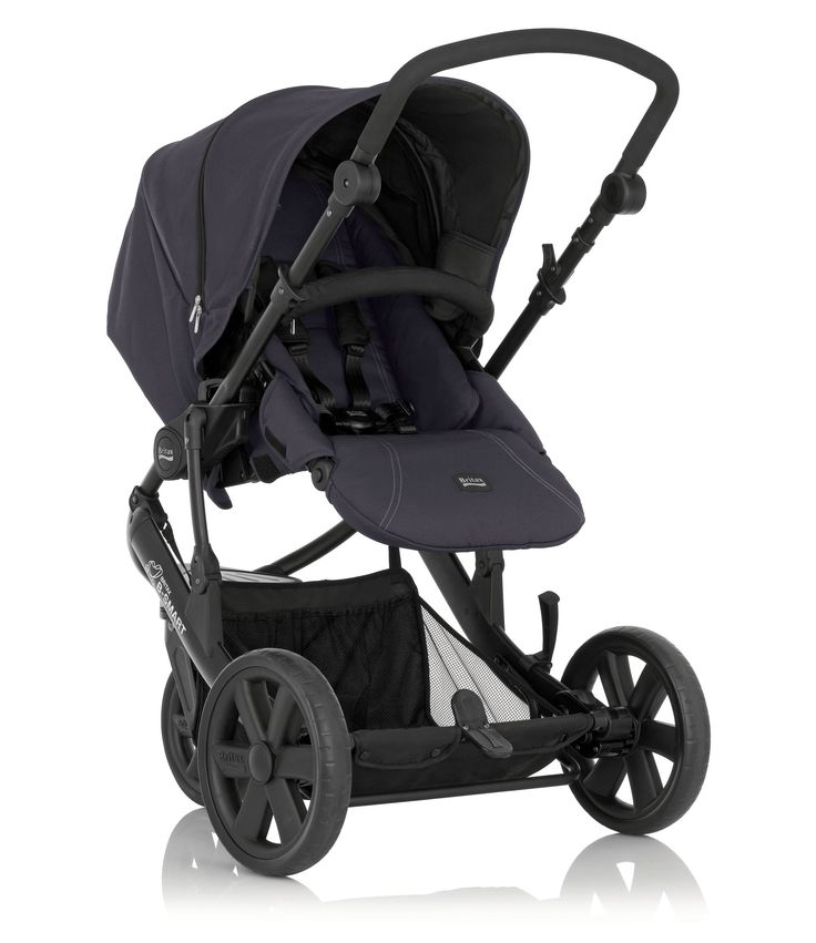 Britax B-Smart 3 Pushchair - Black Thunder