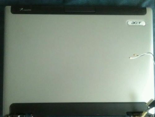 Acer Aspire 5100 Series Lcd Screen Unit With Hinges And Cables Complete Assembly