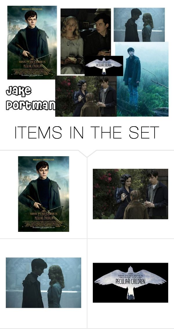 """Jake Portman"" by emily-dickson-1 ❤ liked on Polyvore featuring art and Missperegrineshomeforpeculiarchildren"