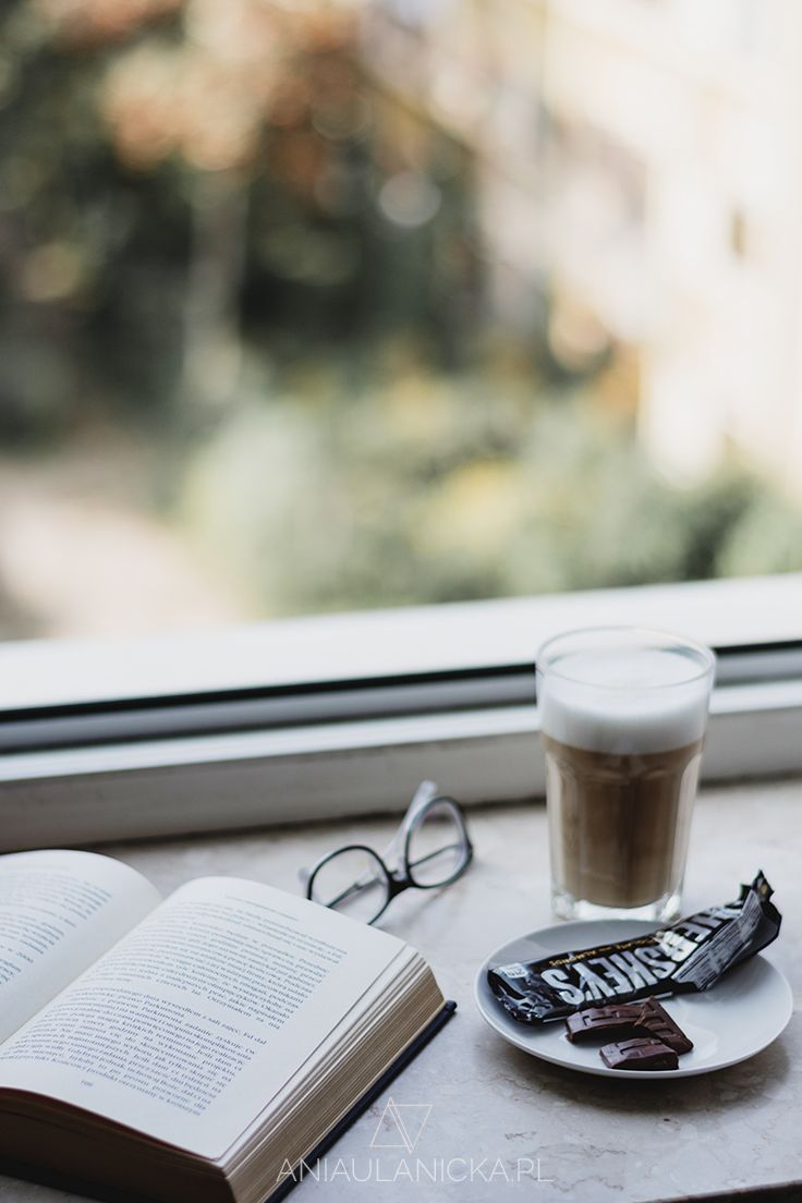 Coffee, book and chocolate!