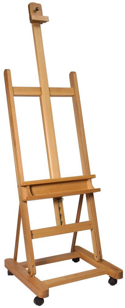 Art Shed Online - Mont Marte Large Studio Easel w/castors Beech Wood, $149.00 (http://www.artshedonline.com.au/mont-marte-large-studio-easel-w-castors-beech-wood/)