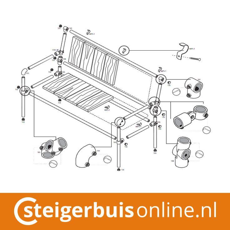 62 beste afbeeldingen over zelfmaak idee n steigerhout op for Opbergsysteem schuur