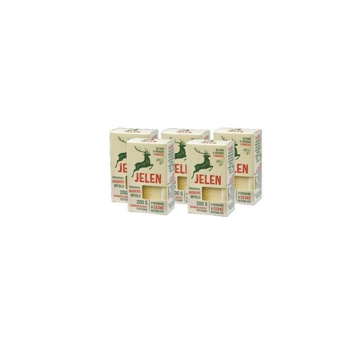 Jádrové mýdlo Jelen 200 g 5+ | Mýdlo s Jelenem