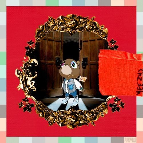 College dropout, Late Registration, Graduation, 808's & Heartbreaks, My Beautiful Dark Twisted Fantasy, Yeezus all in one. Kanye West, Teddy Bear