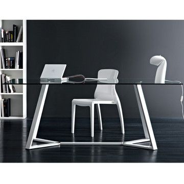 My design inspiration: Archie-180 Dining Table White on Fab.