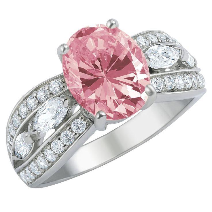 amazing beauty diamonisse ring the danbury mint
