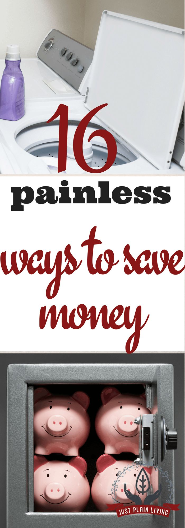 Easy and painless ways to save money