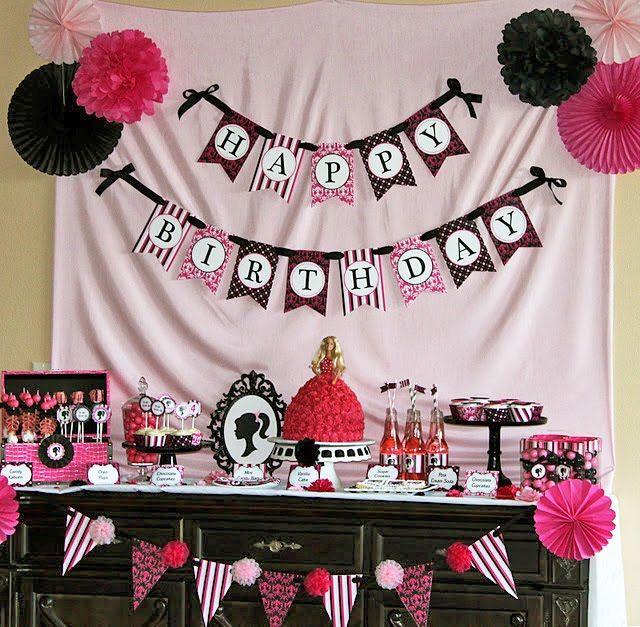 26 best Avas 4th Barbie Party images on Pinterest Barbie