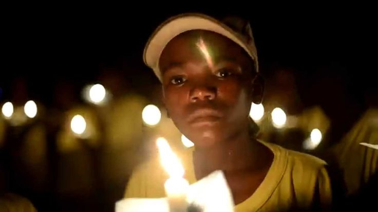 Children in the Wilderness celebrate Earth Hour at Ruckomechi Camp #Zambezi #Zimbabwe #ManaPools #Community