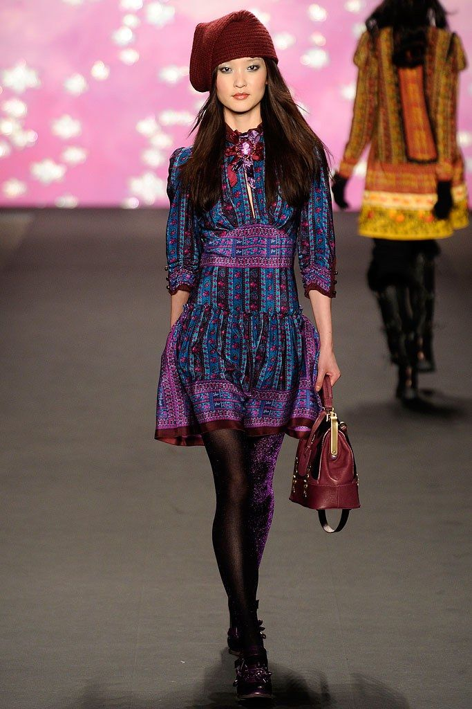 Anna Sui Fall 2009 Ready-to-Wear Fashion Show - Du Juan