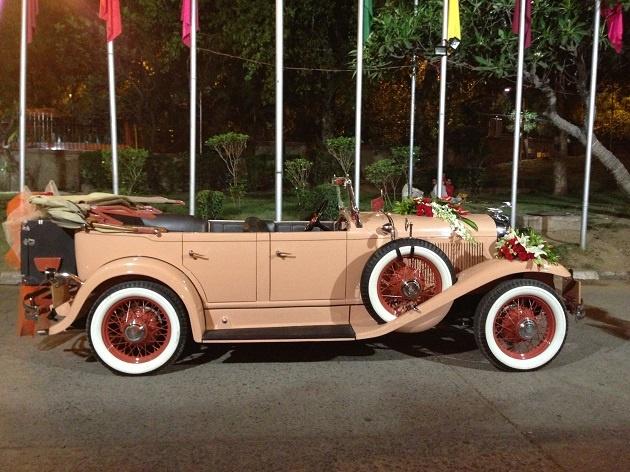 Bon 1931 Chrysler Vintage Car At Weddings