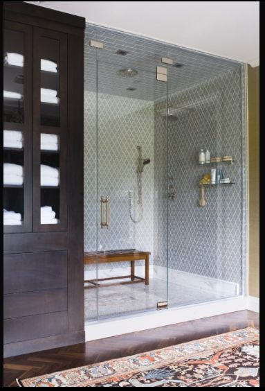 5 Obsessions: Shower Tile... effing beautiful