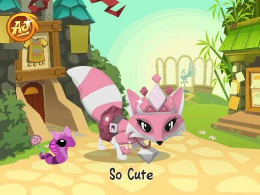 A cute Animal Jam fox.