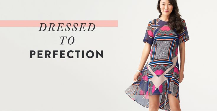 Do you have spring fever yet? And, we're just itching to jump into the latest dress styles of the season. Here