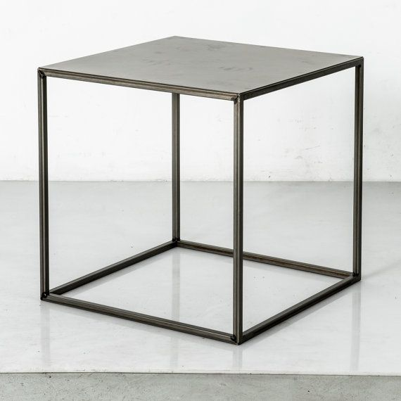 Hey, I found this really awesome Etsy listing at https://www.etsy.com/ca/listing/200946364/raw-industrial-metal-steel-side-table