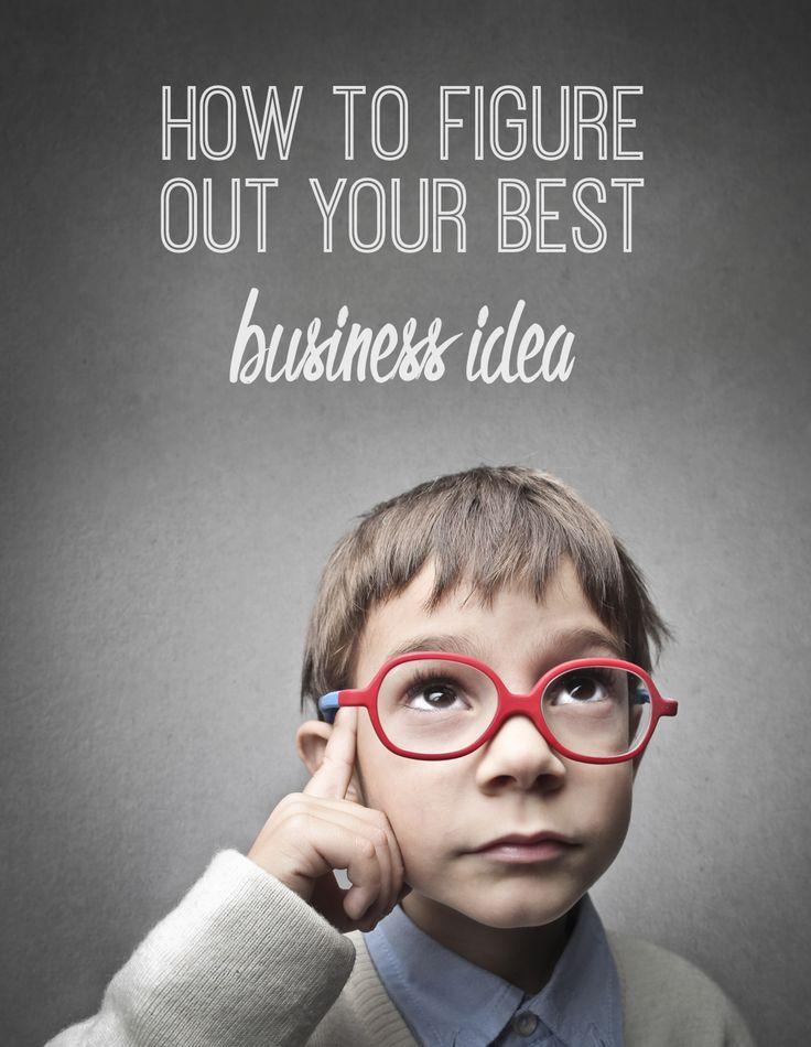 How To Figure Out Your Best Business Idea - Hello Nature