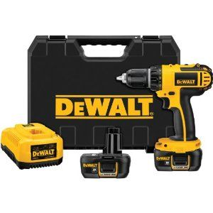 Dewalt DCD760KL Cordless Drill has has dual speed range and is powered by 18 volt battery.