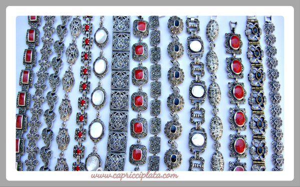 Puedes encontrar estas pulseras de plata 925 de estilo vintage en www.capricciplata.com y en http://www.facebook.com/capricci.plata1 .  #pulseras #plata #vintage #moda #fashion #plata #silver #blackfriday #shoppingonline #tendencia #regalos #woman