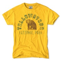 Yellowstone National Park Men's T-Shirt by Tailgate Clothing