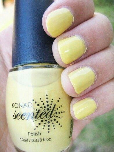 Pineapple scented nails