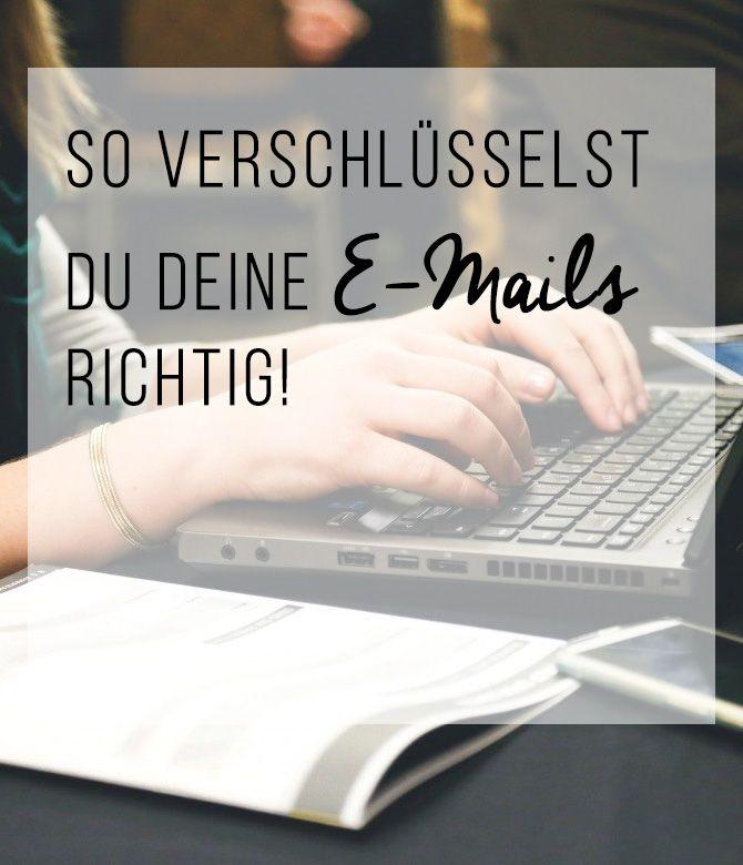 So verschlüsselst du deine E-Mails richtig!