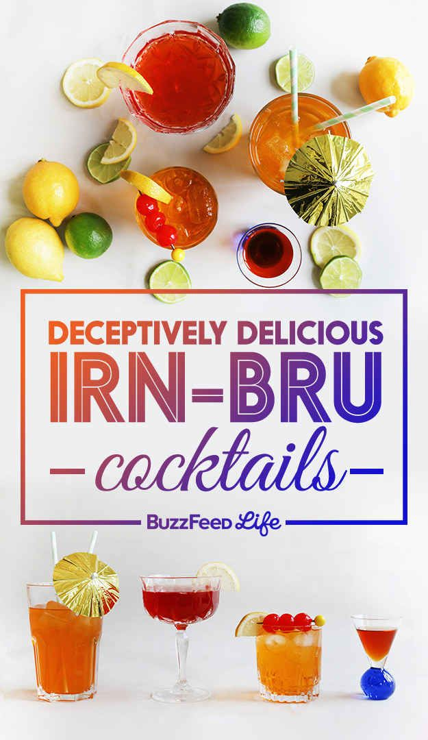 How To Make Deceptively Delicious Irn-Bru Cocktails